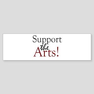 Support the Arts Bumper Sticker