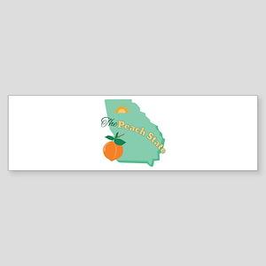 Peach State Bumper Sticker