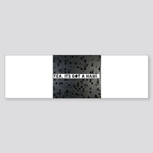 yes its got a hami Bumper Sticker