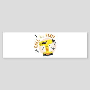 Mr Fix It Bumper Sticker