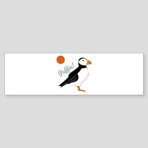 Puffin! Bird Bumper Sticker