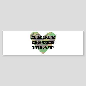 Army Issued Brat Sticker (Bumper)
