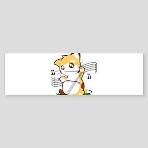 Cello Kitty Bumper Sticker