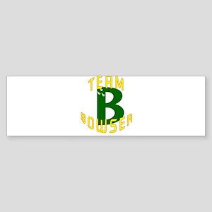 Team Bowser Bumper Sticker