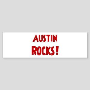 Austin Rocks Bumper Sticker