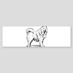 Samoyed dog Bumper Sticker