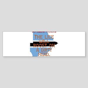 The Lice Will Roost - Botswana Sticker (Bumper)
