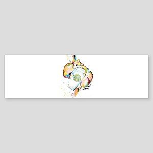 Star Nut Bumper Sticker