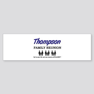 Thompson Family Reunion Bumper Sticker