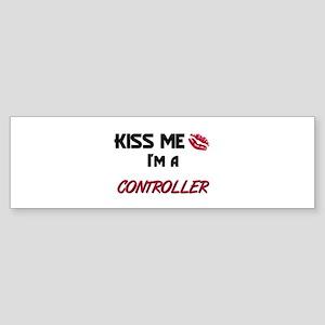 Kiss Me I'm a CONTROL ENGINEER Bumper Sticker