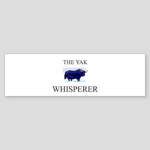 The Yak Whisperer Bumper Sticker