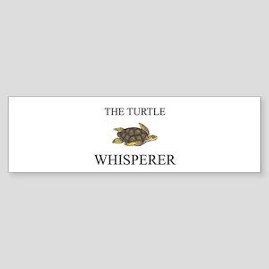 The Turtle Whisperer Bumper Sticker