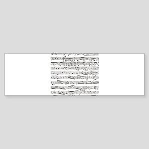 Music notes Sticker (Bumper)