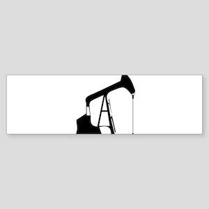 Oil Rig Bumper Sticker