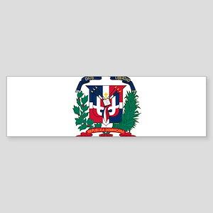 Dominican Republic Coat Of Arms Sticker (Bumper)