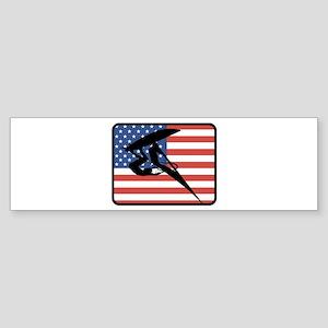 American Windsurfing Bumper Sticker
