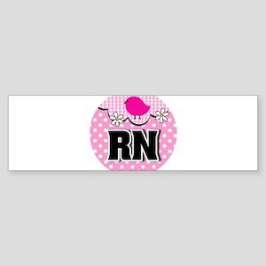 Nurse RN Birdie Sticker (Bumper)