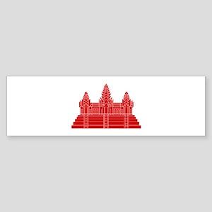 Angkor Wat Ver.2.0 Khmer Temple Bumper Sticker