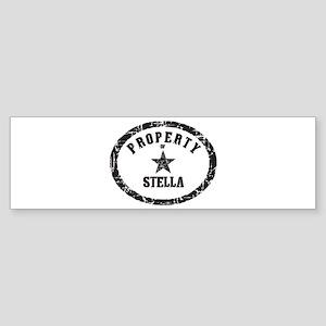 Property of Stella Bumper Sticker
