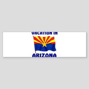ARIZONA VACATION Sticker (Bumper)