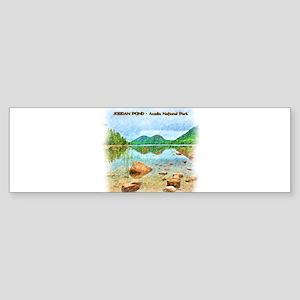 Jordan Pond - Acadia National Park Bumper Sticker