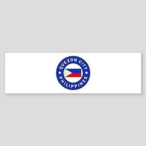 Quezon City Philippines Bumper Sticker