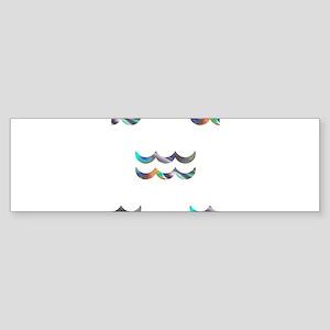 hologram aquarius Bumper Sticker