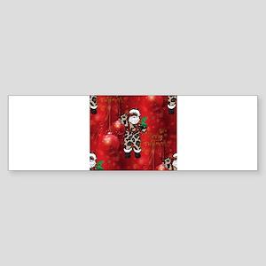 african leopard santa Bumper Sticker