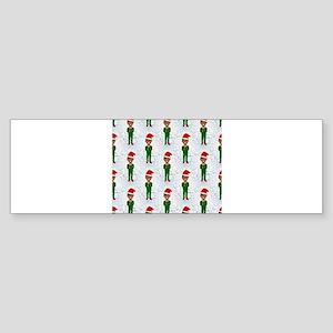 barack obama santa Bumper Sticker