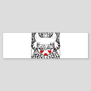 wolf princess Bumper Sticker