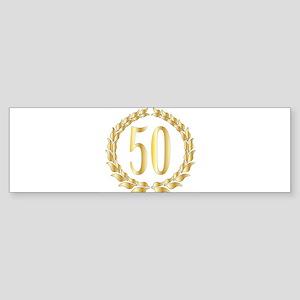 50th Anniversary Bumper Sticker