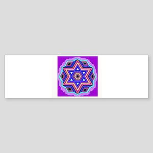 Jewish Star of David. Bumper Sticker