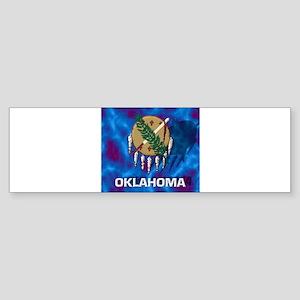 Oklahoma State Flag Bumper Sticker