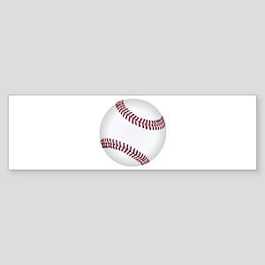 Baseball Game Time Bumper Sticker