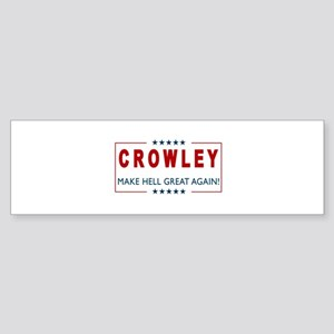 Crowley for President 2 Bumper Sticker