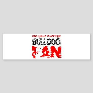 Georgia fan Bumper Sticker