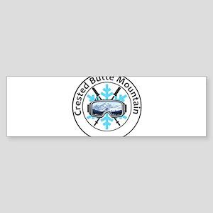 Crested Butte Mountain Resort - M Bumper Sticker