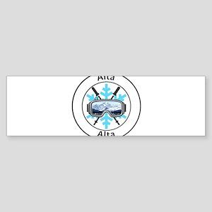Alta - Alta - Utah Bumper Sticker
