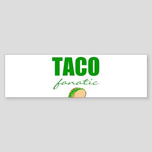 Taco lover Bumper Sticker