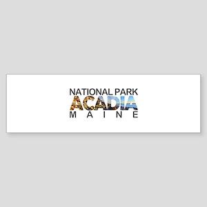 Acadia - Maine Bumper Sticker