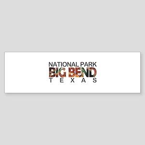 Big Bend - Texas Bumper Sticker