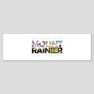 Mount Rainier - Washington Bumper Sticker