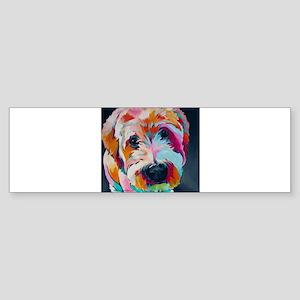 Wheaten Terrier Kirby Jane Bumper Sticker