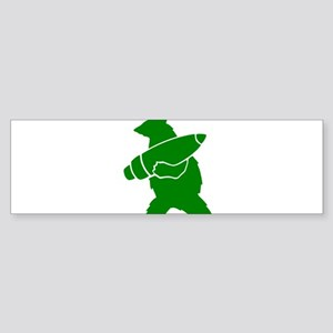 Wojtek the Soldier Bear Bumper Sticker