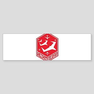 snow_bird_aerobatic Bumper Sticker