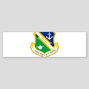 143rd Airlift Wing Bumper Sticker