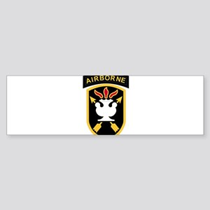 JFK Special Warfare Center Bumper Sticker