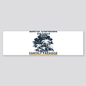 North Carolina - Oak Island Bumper Sticker