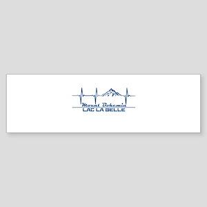 Mount Bohemia - Lac La Belle - Mi Bumper Sticker