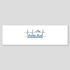 Sandia Peak - Albuquerque - New M Bumper Sticker